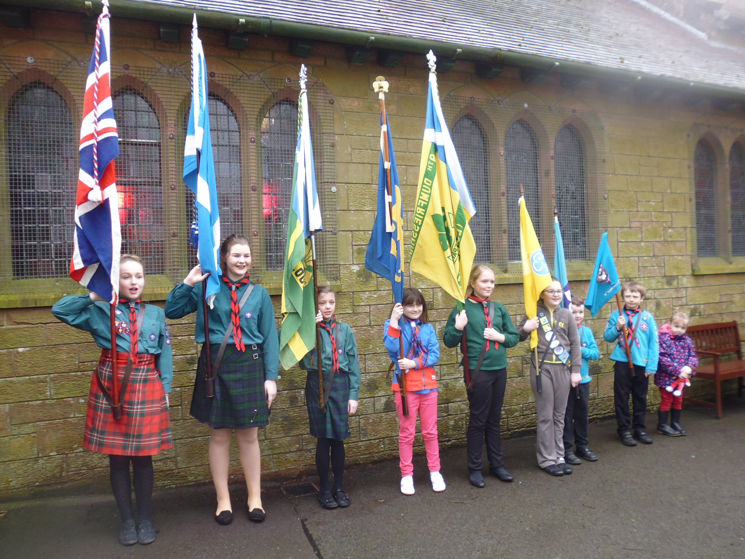 Scouts and Guides 'Founders Day'