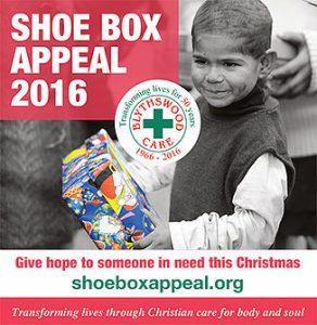 Shoe Box Appeal 2016